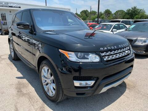 2016 Land Rover Range Rover Sport for sale at KAYALAR MOTORS in Houston TX