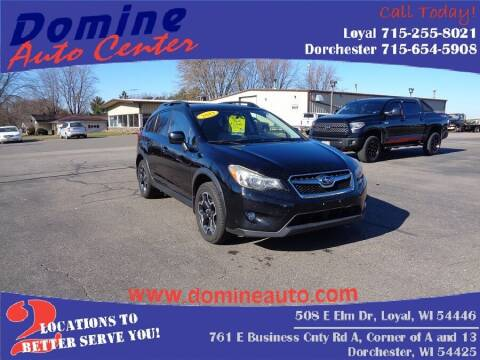 2013 Subaru XV Crosstrek for sale at Domine Auto Center in Loyal WI