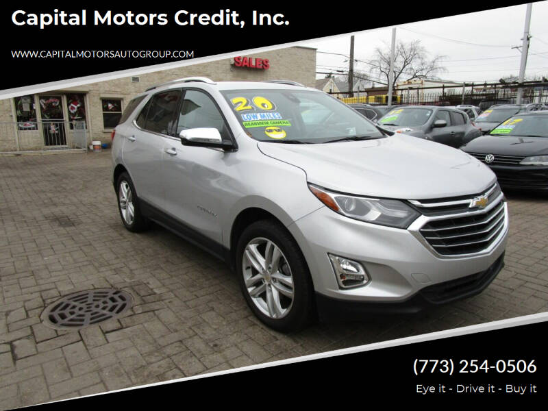 2020 Chevrolet Equinox for sale at Capital Motors Credit, Inc. in Chicago IL