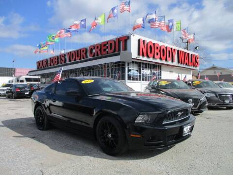 2014 Ford Mustang for sale at Giant Auto Mart 2 in Houston TX