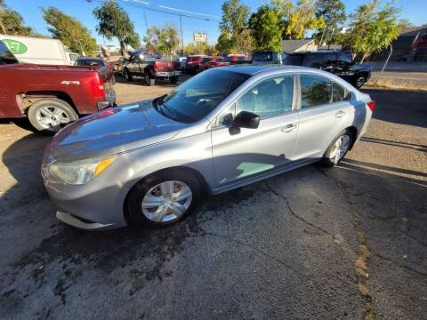 2015 Subaru Legacy for sale at JPL Auto Sales LLC in Denver CO