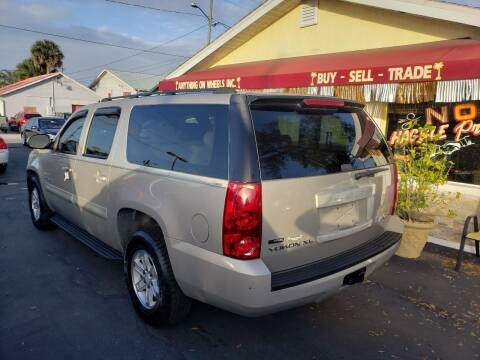2007 GMC Yukon XL for sale at ANYTHING ON WHEELS INC in Deland FL