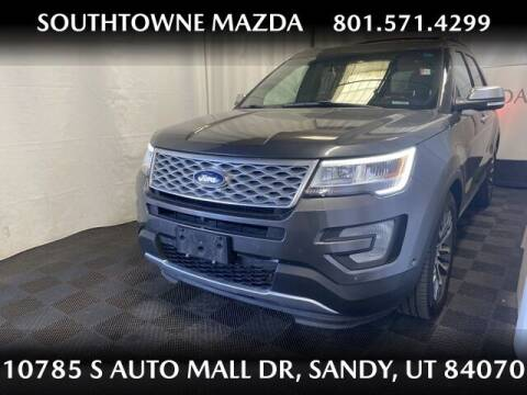 2016 Ford Explorer for sale at Southtowne Mazda of Sandy in Sandy UT