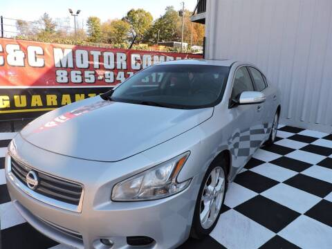 2012 Nissan Maxima for sale at C & C Motor Co. in Knoxville TN