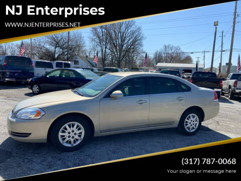 2008 Chevrolet Impala for sale at NJ Enterprises in Indianapolis IN