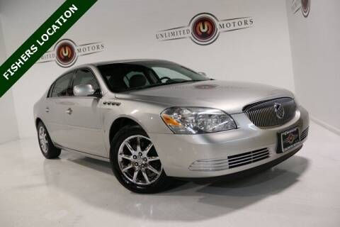 2007 Buick Lucerne for sale at Unlimited Motors in Fishers IN