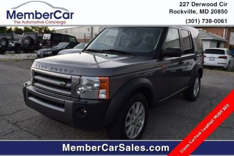 2007 Land Rover LR3 for sale at MemberCar in Rockville MD
