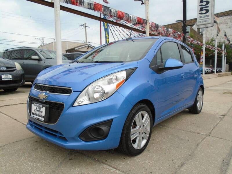 2013 Chevrolet Spark for sale at CAR CENTER INC in Chicago IL
