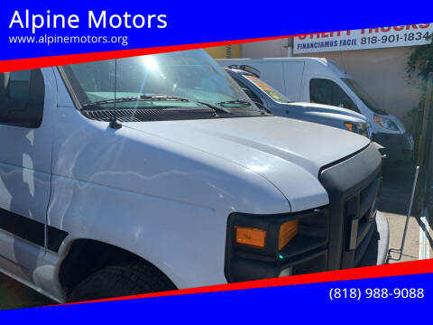 2012 Ford E-Series Cargo for sale at Alpine Motors in Van Nuys CA