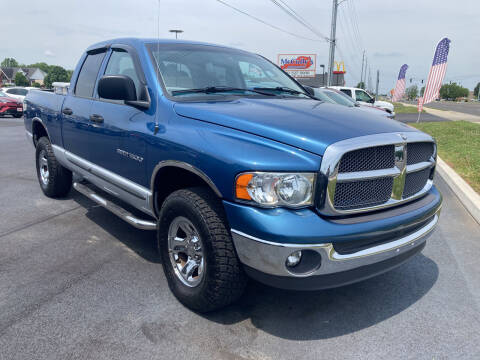 2002 Dodge Ram Pickup 1500 for sale at McCully's Automotive - Trucks & SUV's in Benton KY