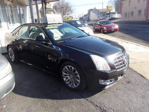 2012 Cadillac CTS for sale at Fulmer Auto Cycle Sales - Fulmer Auto Sales in Easton PA