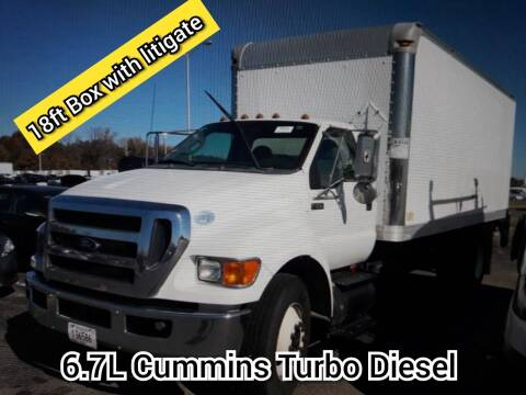 2013 Ford F-650 Super Duty for sale at DOABA Motors in San Jose CA