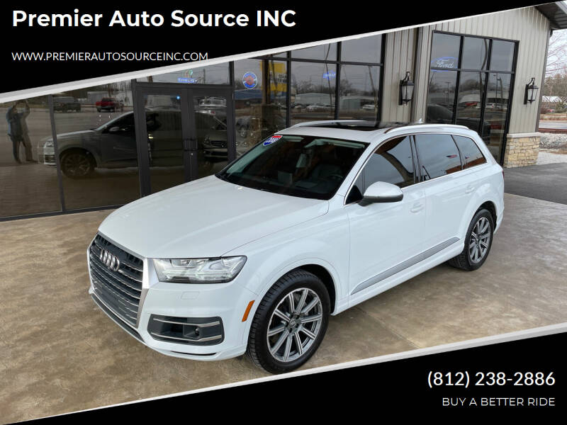 2018 Audi Q7 for sale at Premier Auto Source INC in Terre Haute IN