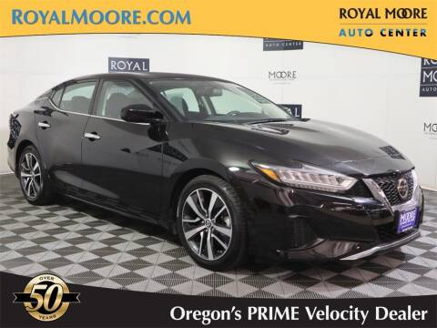 2019 Nissan Maxima for sale at Royal Moore Custom Finance in Hillsboro OR