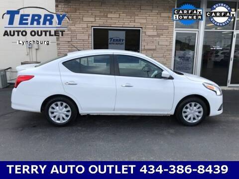 2019 Nissan Versa for sale at Terry Auto Outlet in Lynchburg VA