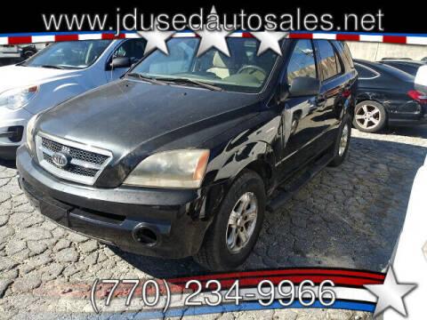 2006 Kia Sorento for sale at J D USED AUTO SALES INC in Doraville GA