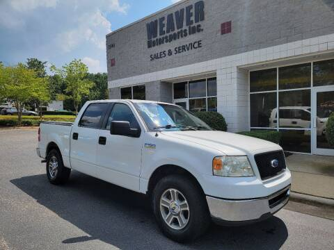 2006 Ford F-150 for sale at Weaver Motorsports Inc in Cary NC