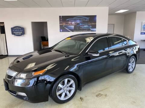 2012 Acura TL for sale at Used Car Outlet in Bloomington IL