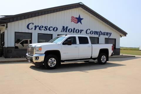 2018 GMC Sierra 2500HD for sale at Cresco Motor Company in Cresco IA