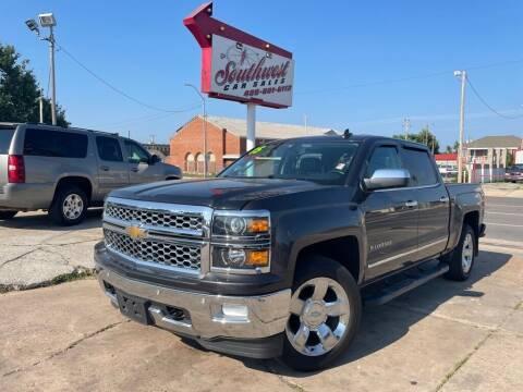 2015 Chevrolet Silverado 1500 for sale at Southwest Car Sales in Oklahoma City OK