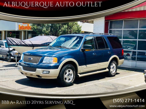 2005 Ford Expedition for sale at ALBUQUERQUE AUTO OUTLET in Albuquerque NM