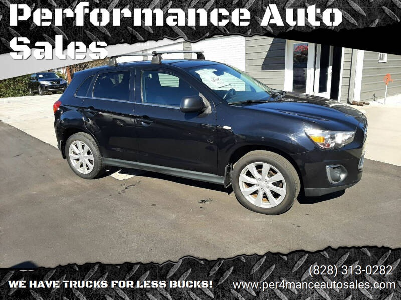 2014 Mitsubishi Outlander Sport for sale at Performance Auto Sales in Hickory NC