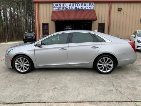 2013 Cadillac XTS for sale at Daniel Used Auto Sales in Dallas GA