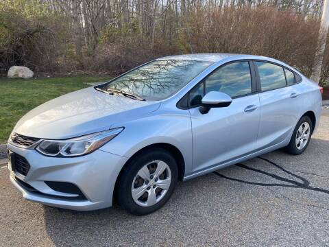 2018 Chevrolet Cruze for sale at Padula Auto Sales in Braintree MA