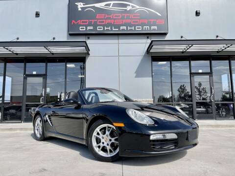 2005 Porsche Boxster for sale at Exotic Motorsports of Oklahoma in Edmond OK