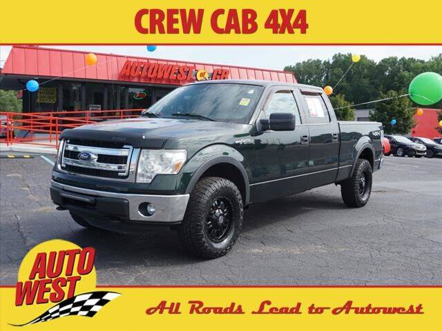 2014 Ford F-150 for sale at Autowest of GR in Grand Rapids MI