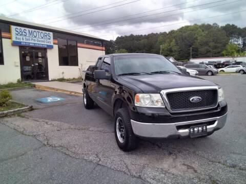 2007 Ford F-150 for sale at S & S Motors in Marietta GA