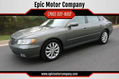 2007 Hyundai Azera for sale at Epic Motor Company in Chantilly VA