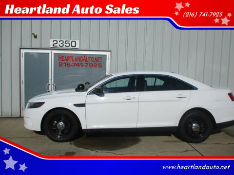 2015 Ford Taurus for sale at Heartland Auto Sales in Medina OH