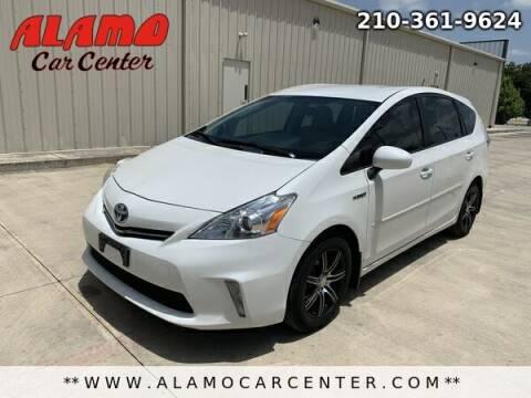 2013 Toyota Prius v for sale at Alamo Car Center in San Antonio TX