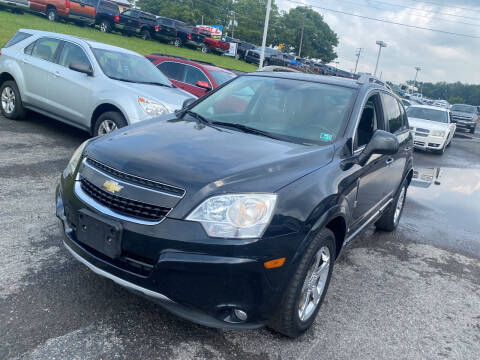 2012 Chevrolet Captiva Sport for sale at Ball Pre-owned Auto in Terra Alta WV