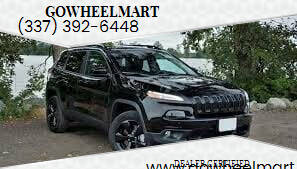 2018 Jeep Cherokee for sale at GOWHEELMART in Leesville LA