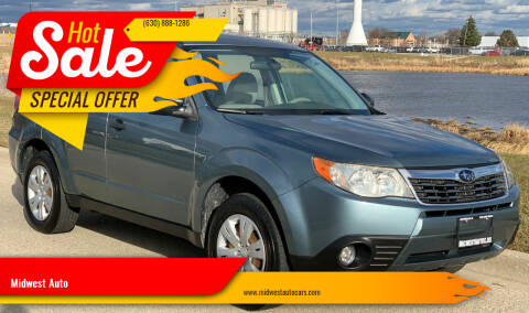 2010 Subaru Forester for sale at Midwest Auto in Naperville IL