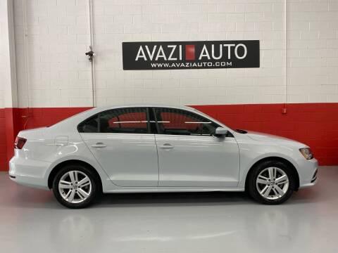 2017 Volkswagen Jetta for sale at AVAZI AUTO GROUP LLC in Gaithersburg MD