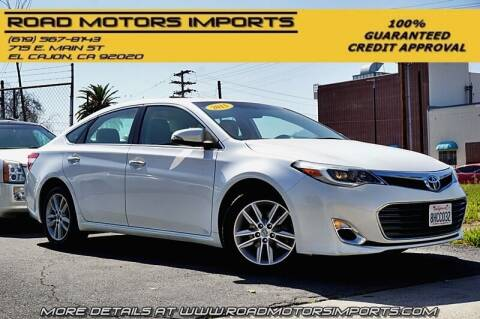 2015 Toyota Avalon for sale at Road Motors Imports in El Cajon CA