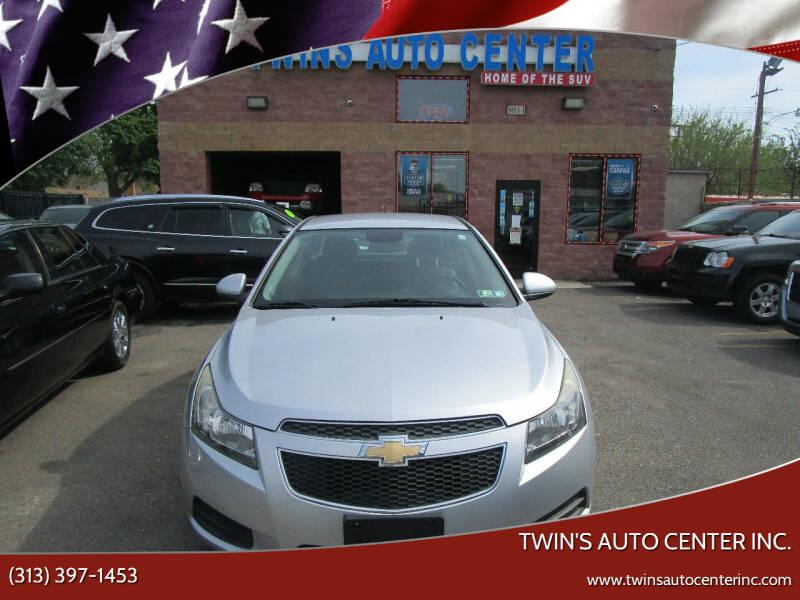 2013 Chevrolet Cruze for sale at Twin's Auto Center Inc. in Detroit MI