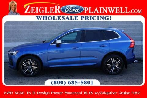 2018 Volvo XC60 for sale at Zeigler Ford of Plainwell- Jeff Bishop in Plainwell MI