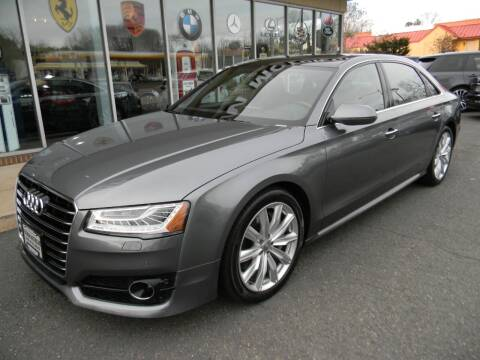 2017 Audi A8 L for sale at Platinum Motorcars in Warrenton VA