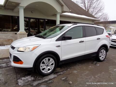 2015 Ford Escape for sale at DEALS UNLIMITED INC in Portage MI
