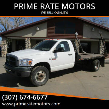 2009 Dodge Ram Chassis 3500 for sale at PRIME RATE MOTORS in Sheridan WY