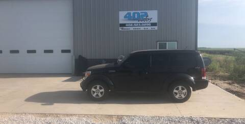 2009 Dodge Nitro for sale at 402 Autos in Lindsay NE