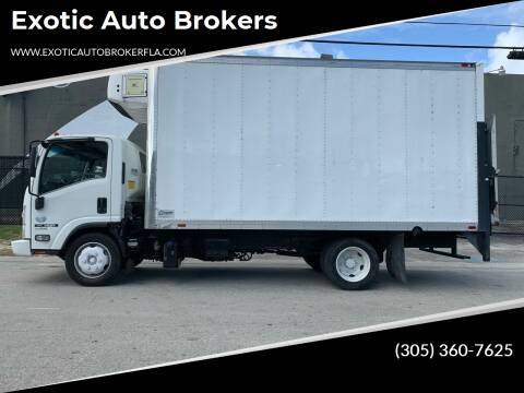 2013 Isuzu NQR for sale at Exotic Auto Brokers in Miami FL