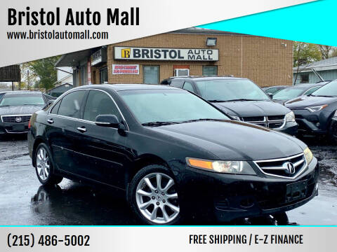 2008 Acura TSX for sale at Bristol Auto Mall in Levittown PA