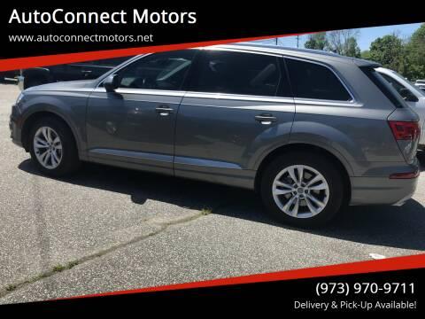 2017 Audi Q7 for sale at AutoConnect Motors in Kenvil NJ