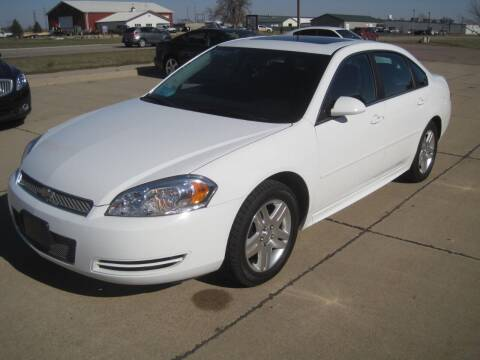 2014 Chevrolet Impala Limited for sale at IVERSON'S CAR SALES in Canton SD