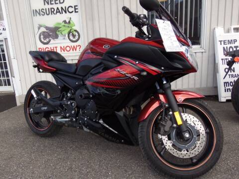 2011 Yamaha FZ6R for sale at Fulmer Auto Cycle Sales - Fulmer Auto Sales in Easton PA